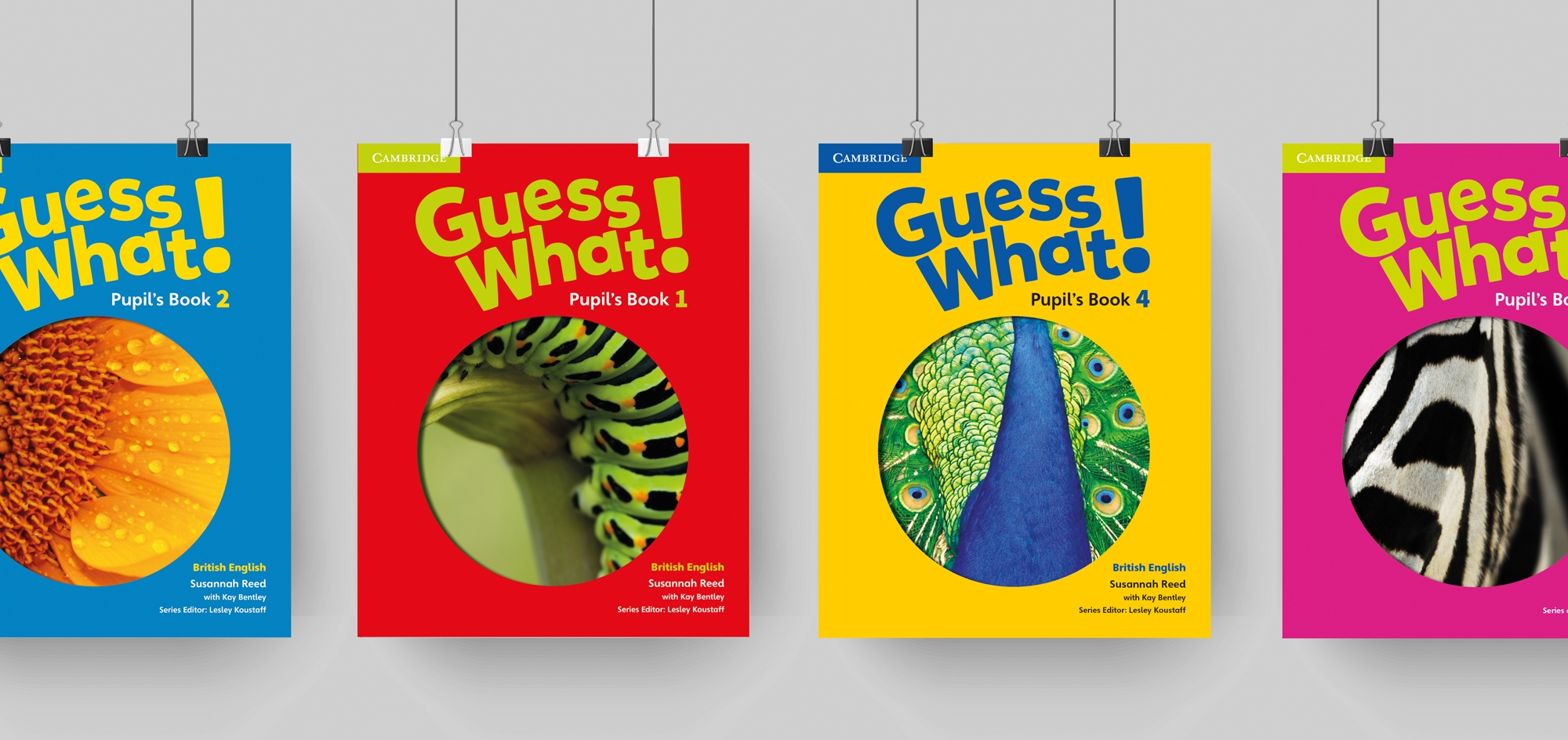 Blooberry Design – Cambridge University Press – Guess What Covers – Publishing design