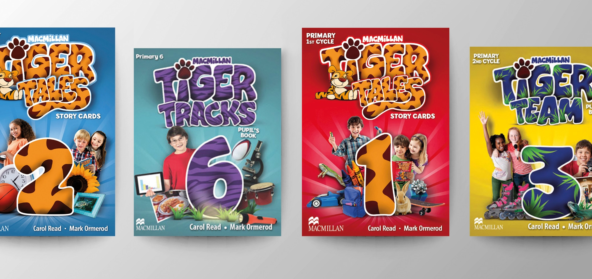 Blooberry Design, Macmillan Tiger Tales book covers. Publishing design.
