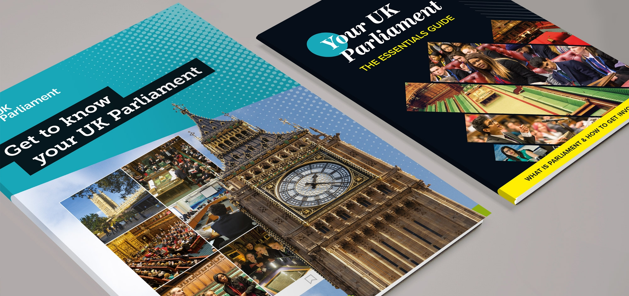 blooberry design – UK Parliament – Key Stage 3 and 4 book covers – publishing design